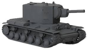 <b>Сборная модель ZVEZDA Советский</b> тяжелый танк КВ-2 (3608) 1 ...