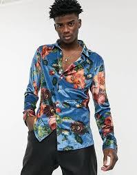 Men's Printed Shirts | <b>Floral</b> and <b>Hawaiian</b> Shirts | ASOS