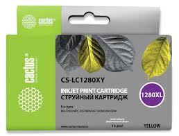 <b>Картридж</b> YELLOW 16.6ML CS-<b>LC1280XY CACTUS</b>