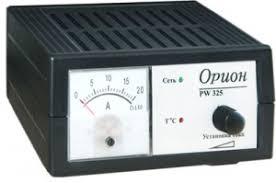 Зарядное <b>устройство</b> импульсное <b>Орион PW 325</b>