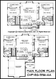 Small Craftsman Bungalow House Plan CHP SG   AA Sq Ft    SG  Main Floor Plan