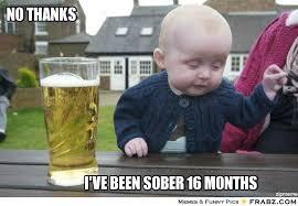 NO THANKS ... - Drunk baby Meme Generator Captionator via Relatably.com