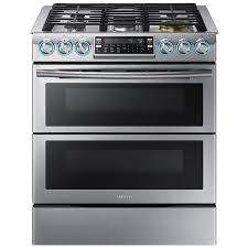Gas Stainless Steel Cooktop Shop Double Oven Gas Ranges At Lowescom