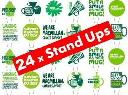 Buy 24 x Macmillan Cancer Support Reaserch Charity Cup Coffee ...