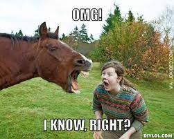 Reaction Pic - OMG I know right | Funny Dirty Adult Jokes, Memes ... via Relatably.com