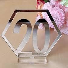 Kinear Table Numbers,NO.1-20 Double Sided Acrylic ... - Amazon.com