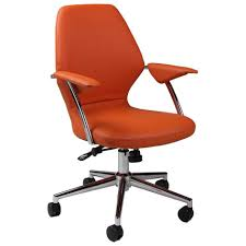 room ergonomic furniture chairs:  chairs high back best office chair orange large size