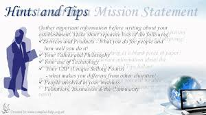 how to write non profit mission statements how to write non profit mission statements
