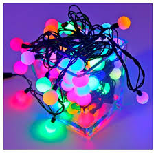 Купить <b>Гирлянда</b> Hi Lights Deco Шарики, 1500 см, RB-OLDBL100 ...