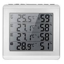 Jardin <b>Min Max</b> Window <b>Thermometer</b> Digital Outdoor <b>Thermometer</b> ...