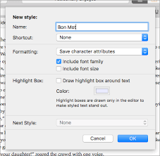 Scrivener <b>3</b>: Doing it with <b>Style</b>(s) | Literature and Latte