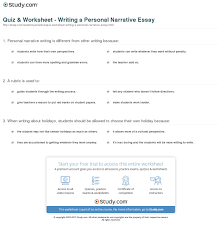 writing narrative essay essay writing narrative how to write narrative essay essays and papers quiz amp worksheet writing