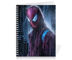 "Тетрадь на пружине ""<b>Человек</b>-<b>паук</b> (Spider-man)"" #1648431 от ..."
