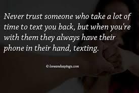 Never Trust Quotes. QuotesGram via Relatably.com