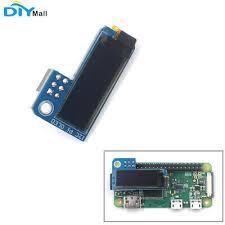 <b>PiOLED</b> I2C <b>0.91inch</b> OLED Display Screen 128x32 SSD1306 Blue ...