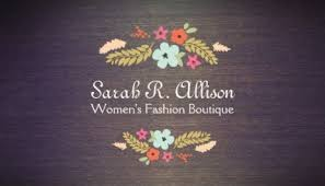 Image result for Floral Business Cards