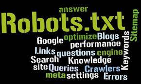 Pengertian dari fungsi robot.txt bagi Blog dalam Search Engine