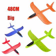 <b>48cm Big Hand</b> Launch Throwing Foam Palne EPP Airplane Model ...