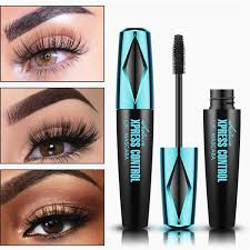 <b>4D Silk Fiber Eyelash</b> Mascara Waterproof Curling Eyelashes Thick ...