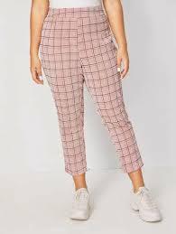 Shop Women's <b>Plus</b>-<b>Size</b> & Curve <b>Pants</b> | SHEIN India