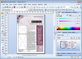 desktop publishing software free office layout software free