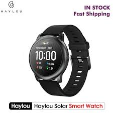 Coupon $26.99 for <b>New Global Version Haylou</b> Solar Smart Watch ...