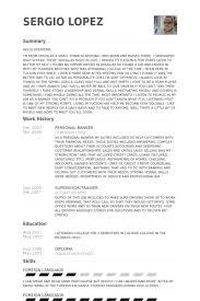 personal banker resume samples visualcv resume samples database personal banker resume samples