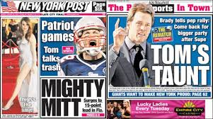 Tom Brady is hopeful of winning the Super Bowl and the New York ... via Relatably.com