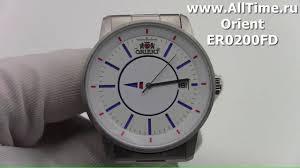 Обзор. Мужские наручные <b>часы Orient ER0200FD</b> - YouTube