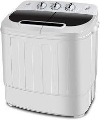 SUPER DEAL <b>Portable</b> Compact <b>Mini Twin</b> Tub <b>Washing Machine</b> w ...
