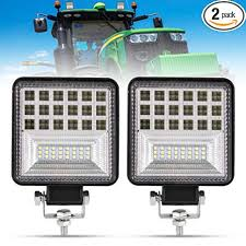 4 Inch LED Work Light - 2Pcs 8000LM Spot & Flood ... - Amazon.com