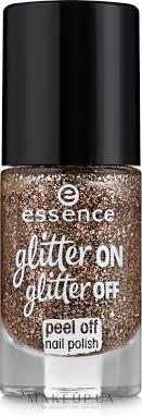 Essence <b>Glitter</b> On <b>Glitter</b> Off Peel Off Nail Polish - <b>Лак для ногтей</b> ...