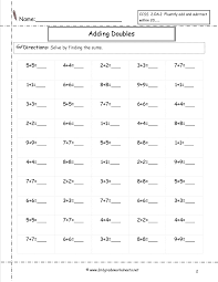 Free Math Worksheets and Printoutssingle digit addition worksheets