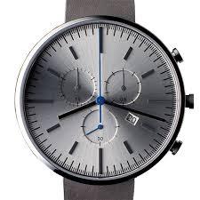 Uniform Wares 302 Series (brushed/grey) <b>watch</b> by Uniform Wares ...
