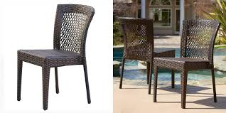 chair armset table wicker patio