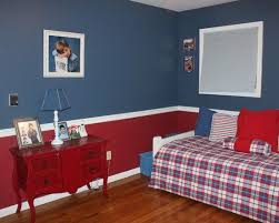 room design red awesome grey red wood modern design boys bedroom kids blue themed red