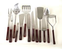 kitchen utensil: surprising mid century modern kitchen utensil set stanhome by lauraslastditch images of in minimalist ideas modern kitchen utensils