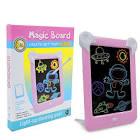 <b>LED Luminous Painting Board</b> Pink Children's writing board Sale ...