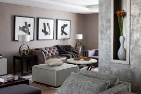 living room modern interior living room design with guest chairs round table and brown color brown living room furniture ideas