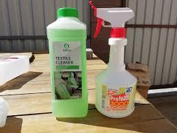 Сравнение <b>очистителей</b> салона. <b>Profoam 3000</b> VS Grass Textile ...
