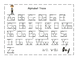 Free Printable Tracing Alphabet Letters A Z | ColoringFree Tracing Letters Worksheet A Z Worksheets Trace Alphabet Khayav