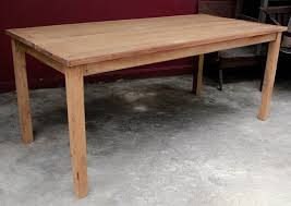 Teak Dining Table <b>Made from</b> All Repurposed Materials by the ...