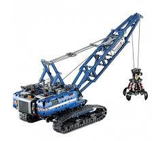 <b>Конструктор Lepin</b> 20010 Гусеничный кран - (аналог Лего 42042 ...