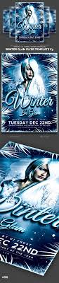 winter glam flyer template v by lou graphicriver winter glam flyer template v3 clubs parties events