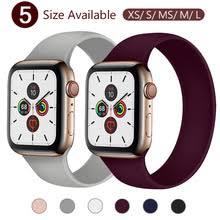 <b>Ремешок силиконовый для</b> Apple Watch 5 Band 40 мм 44 мм ...