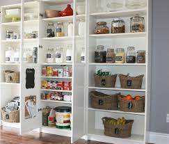 Kitchen Pantries I Love How This Pantry Was Designed Using Ikea Billy Bookcases It