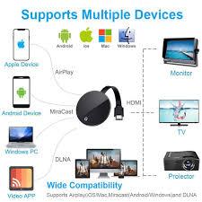 <b>4K Anycast Miracast AirPlay</b> for chromecast 3 2 ultra Wireless HDMI ...