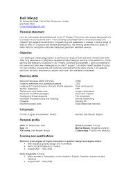 resume personal statement  resume personal statement examples for    sample resume resume personal statement exles telecommunications