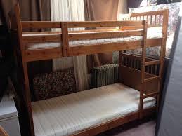 hemnes bunk bed 2 big brown ikea hemnes linen