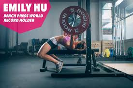 spitfire athlete the ultimate strength training app for women emilyhu benchpress worldrecordholder